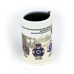 FQPM - Qld Police badge stubby coolers - Queensland Police Health & Recreation Association