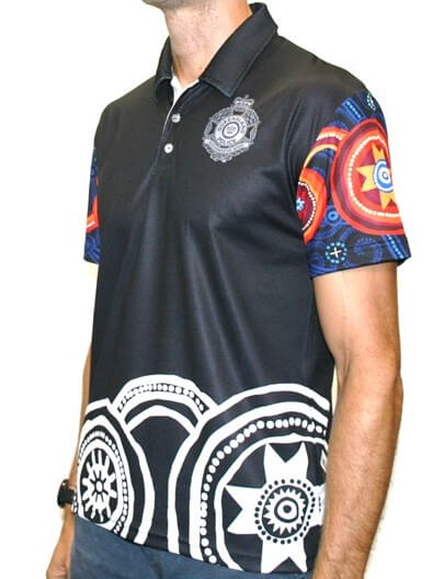 Indigenous Men's Polo - Queensland Police Health & Recreation Association