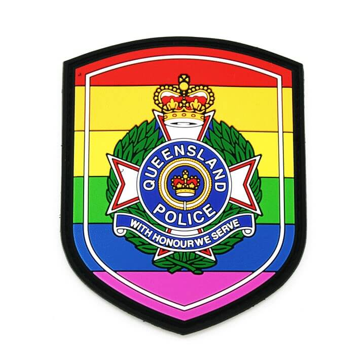 LGBTI Patches - Queensland Police Health & Recreation Association