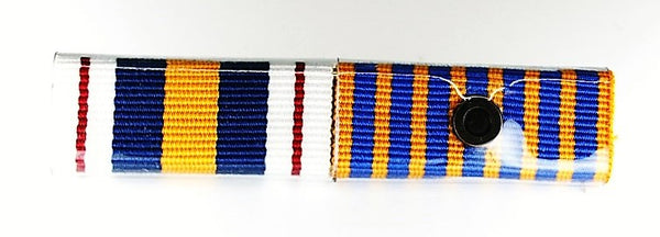 National Police Service Medal and National Medal with 1 Rosette - Queensland Police Health & Recreation Association
