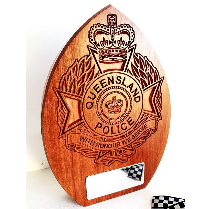 Queensland Police Service Plaque