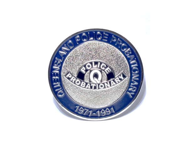 Queensland Police Service Probationary Coin 1971-1991