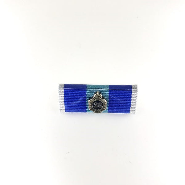 Queensland Police Service Ribbon Bars - New QPS Medals - 20 Years