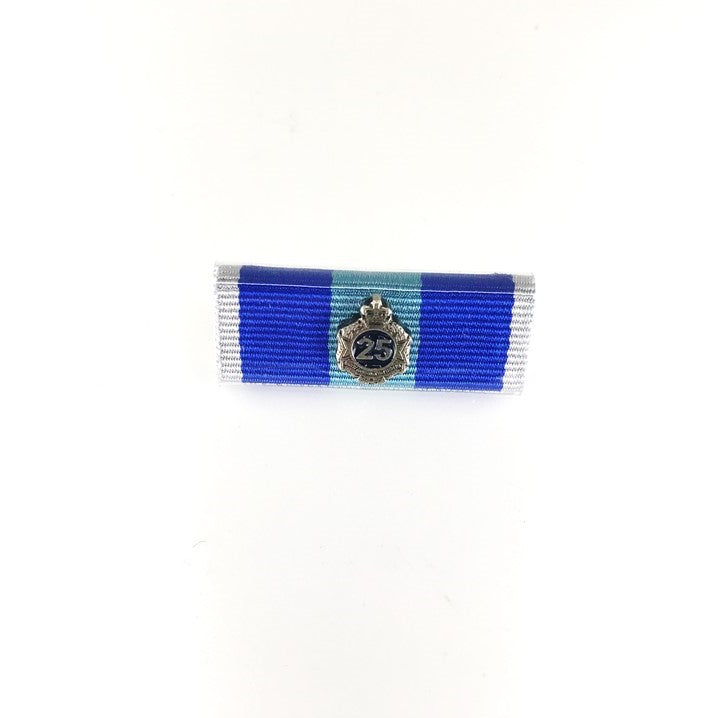 Queensland Police Service Ribbon Bars - New QPS Medals - 25 Years