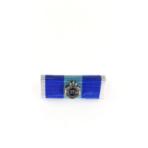 Queensland Police Service Ribbon Bars - New QPS Medals - 35 Years