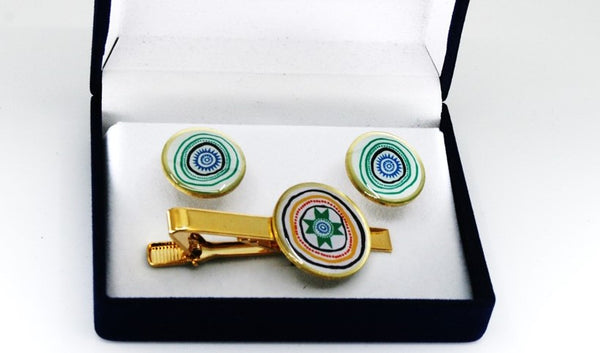 Indigenous (LTTS) Tie pin and Cufflinks