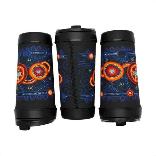 QPS Indigenous Perka Travel Coffee Cup - Queensland Police Health & Recreation Association