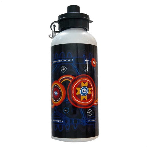 QPS Indigenous Marina Waterbottle - Queensland Police Health & Recreation Association