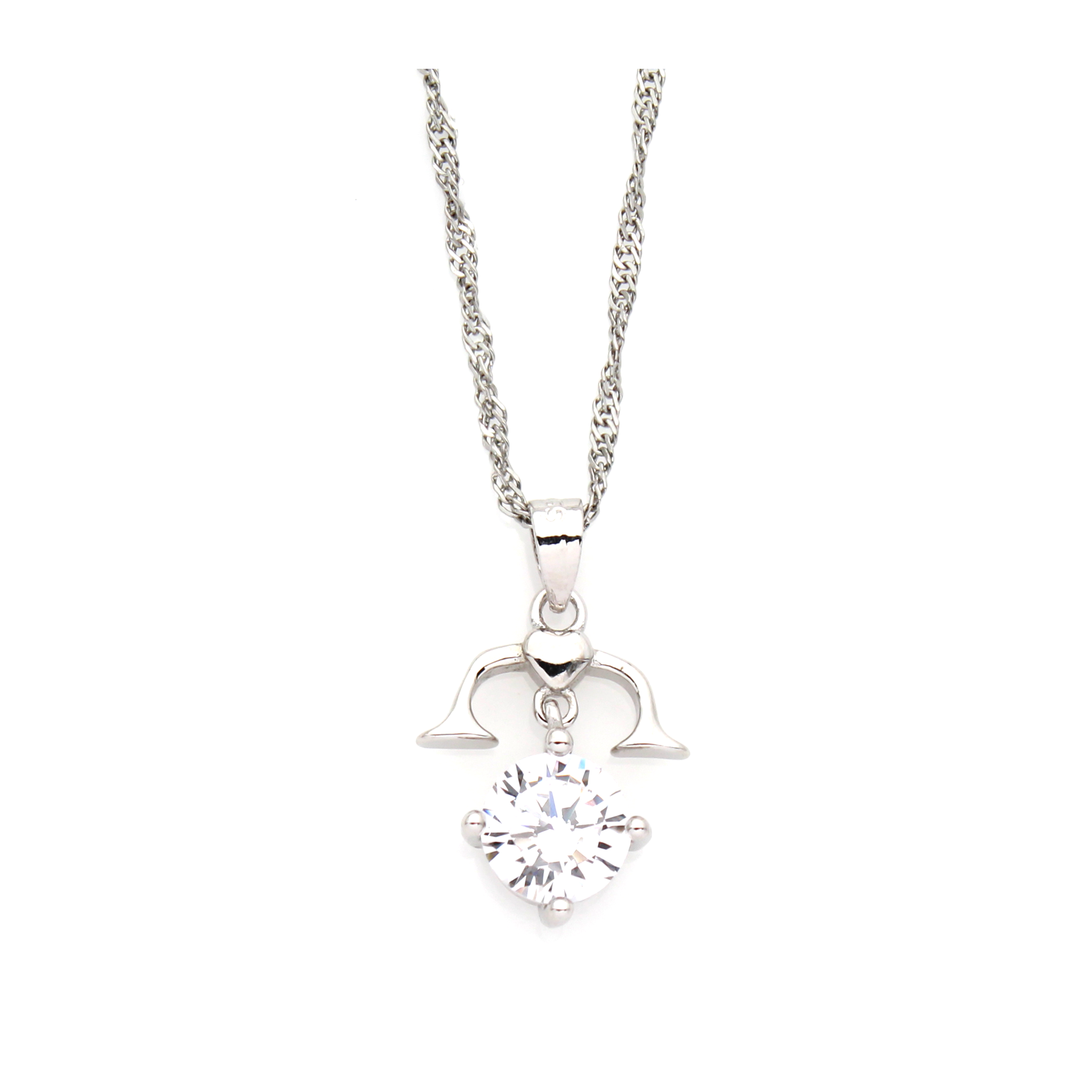 la vita michaela index libra bella earrings silver necklace product