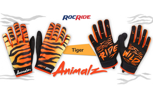 RocRide® Launches it's New Full Line of Animalz™ Print Gloves