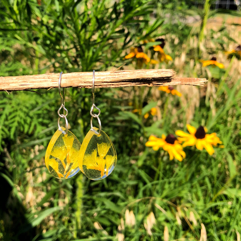 Canary Dreams Wildflower Dangles