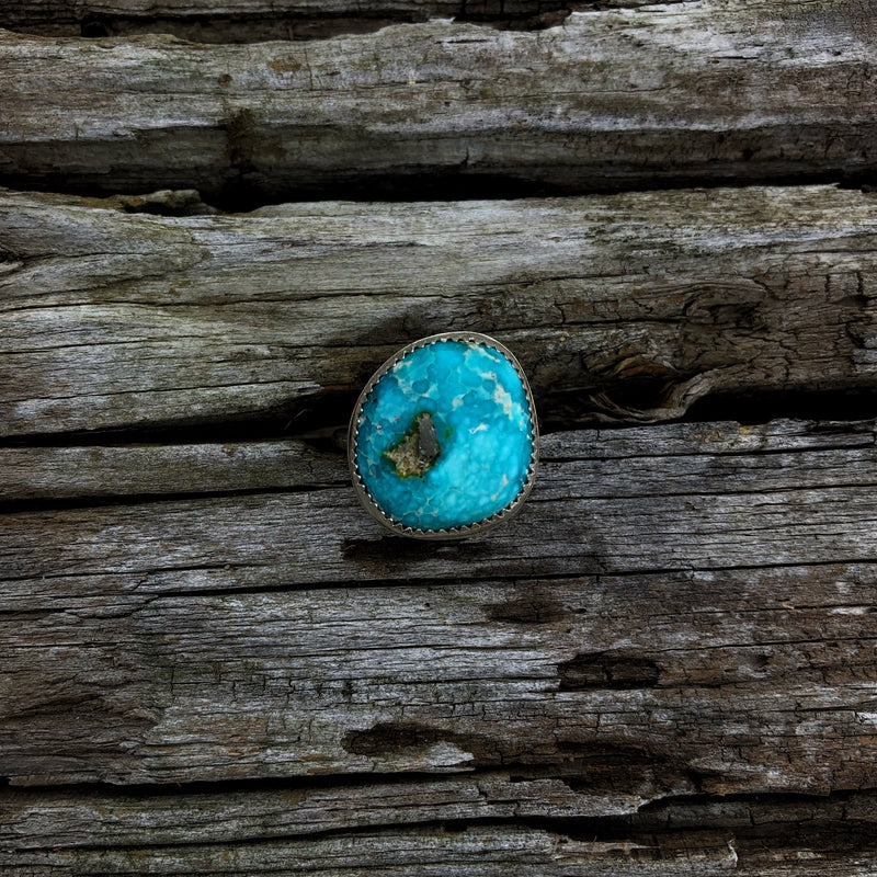 American Turquoise Ring // Size 8.75