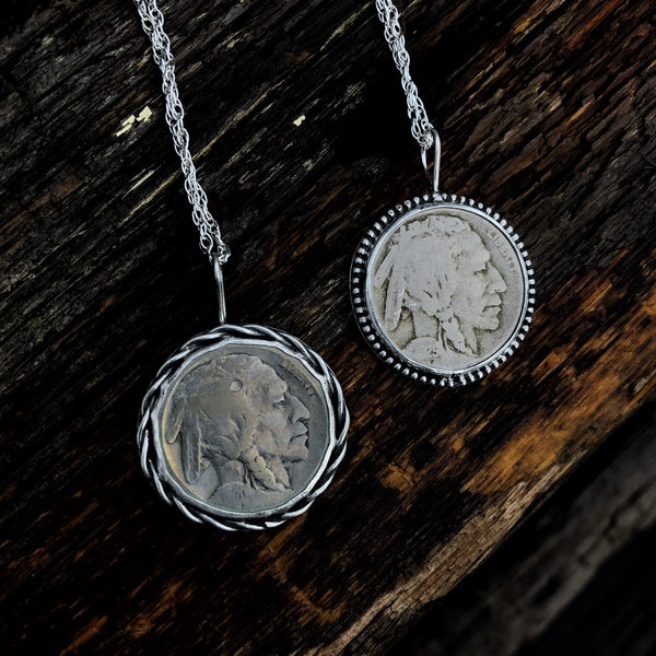 Buffalo Nickel Medallion Necklace // Made to Order
