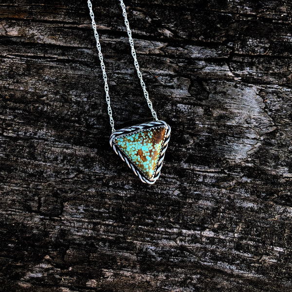Number 8 Mine Turquoise Triangle