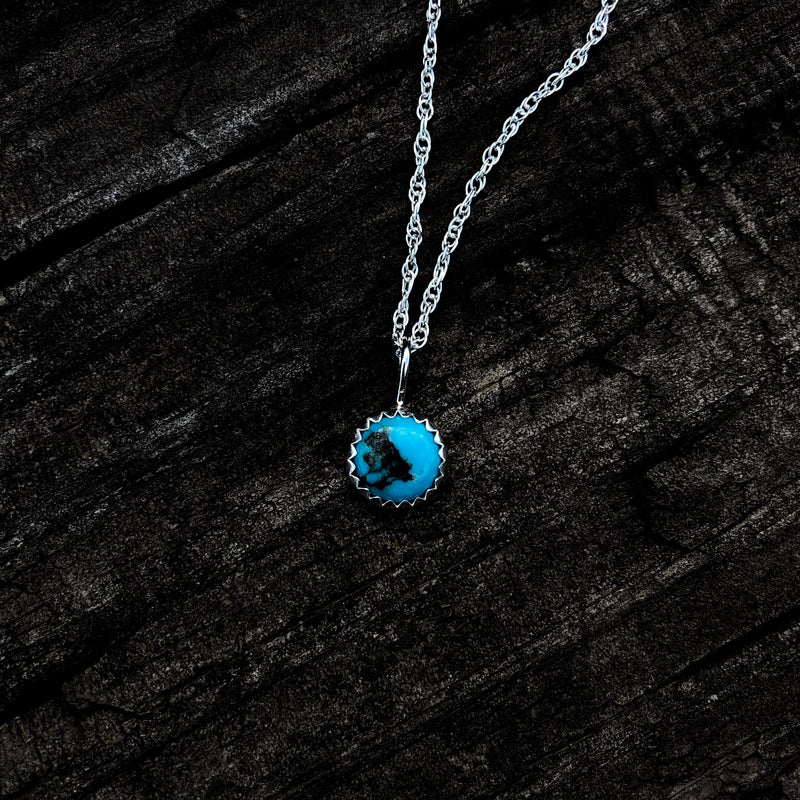 'Sweetwater' // Kingman Turquoise Necklace