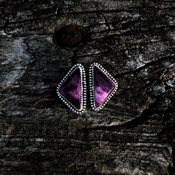 Mexican Purple Spiny Oyster Chunky Studs