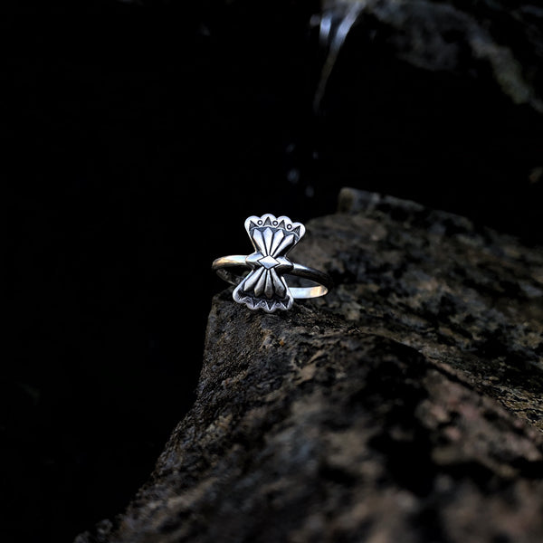 Butterfly Concho Stacking Ring // Made to Order