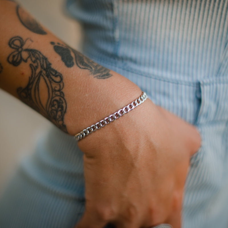 Bluestem // Adjustable Chain Bolo Bracelet