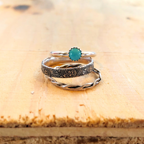 Cheyenne Stacking Ring Set // Made to Order