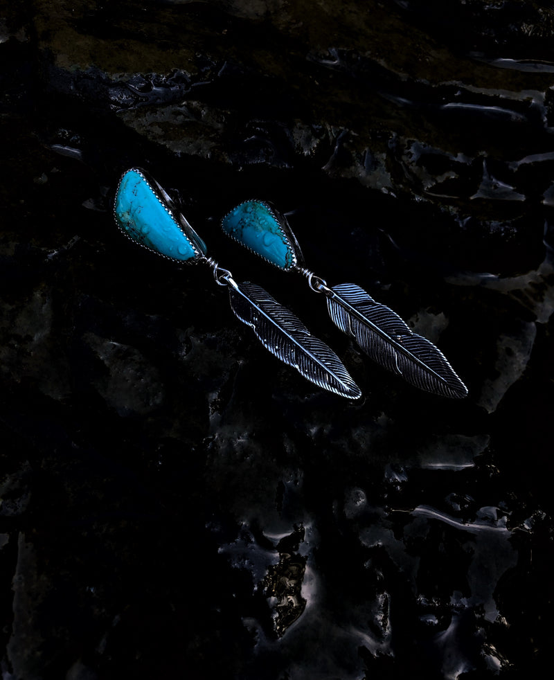 'Isabella' // Kingman & Feather Earrings