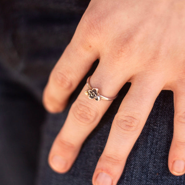 Las Cruces Bloom Ring // Made to Order
