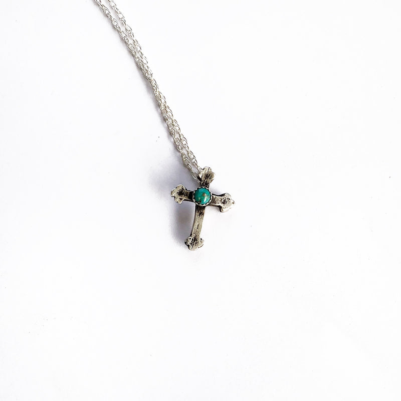 Turquoise Cross // Made to Order