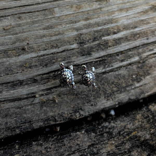Turtle Sterling Studs