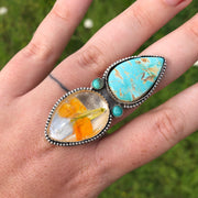 Royston + Wildflower Ring // Finished to Size