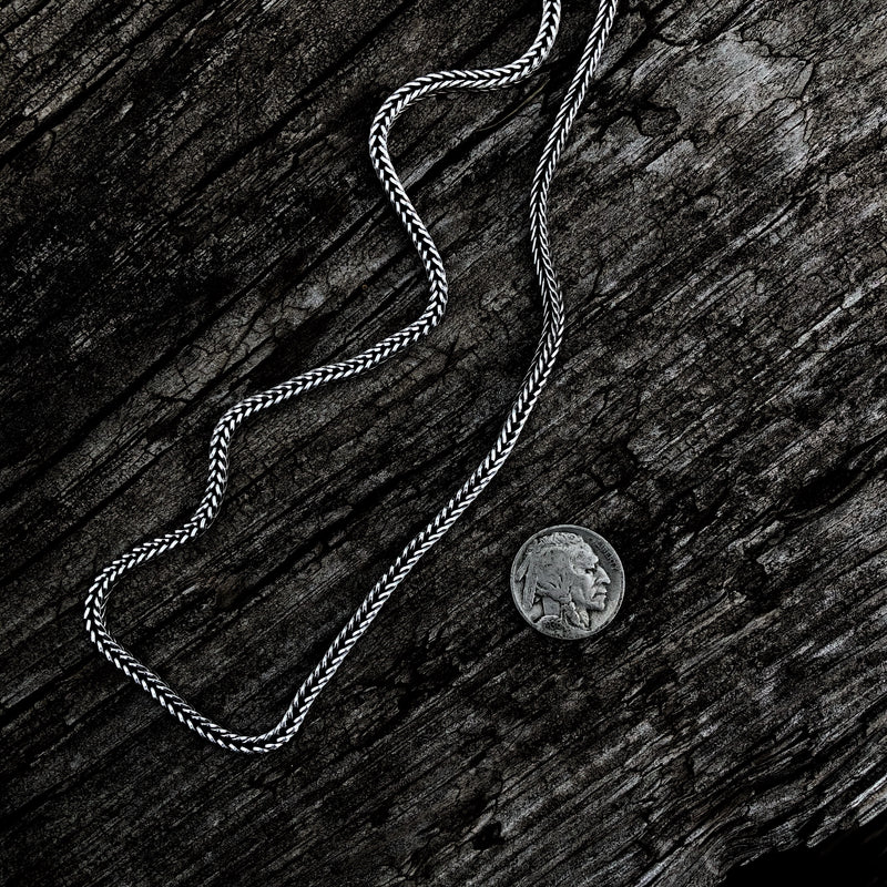 Renata // Sterling Silver Foxtail Chain