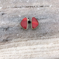 Red Rosarita Studs