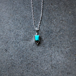 Delicate American Turquoise Pendant