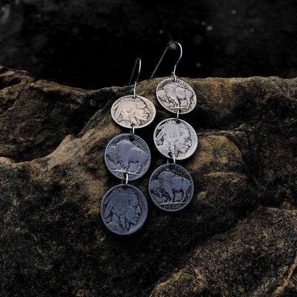 Heritage Triple Drop Earrings