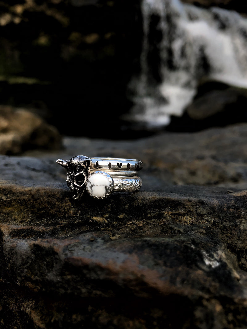 Bozeman Stacking Ring Set // Made to Order