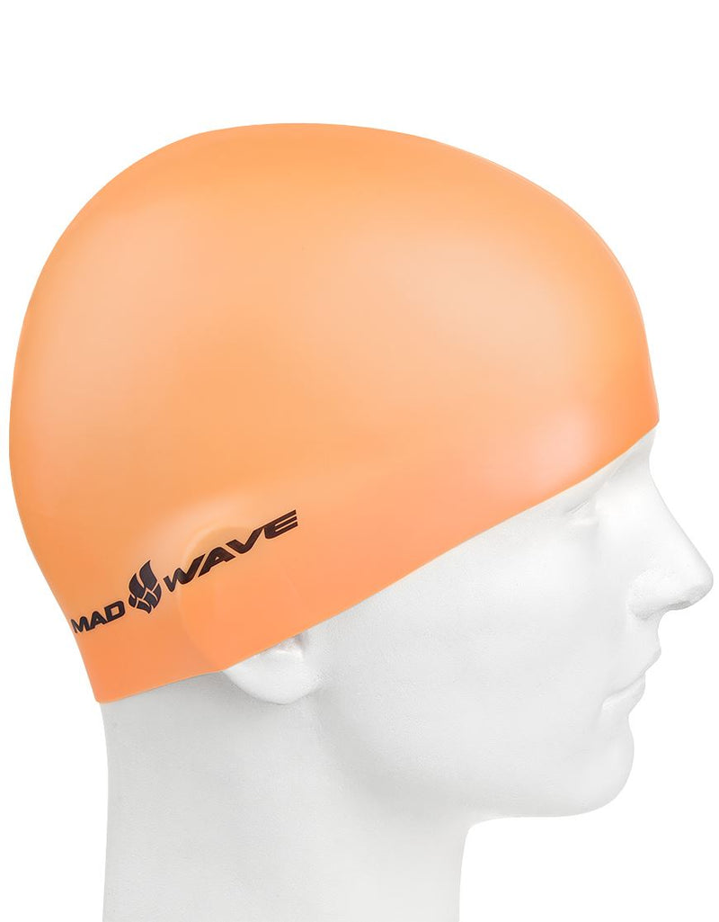 Madwave Silicone Cap Neon Orange
