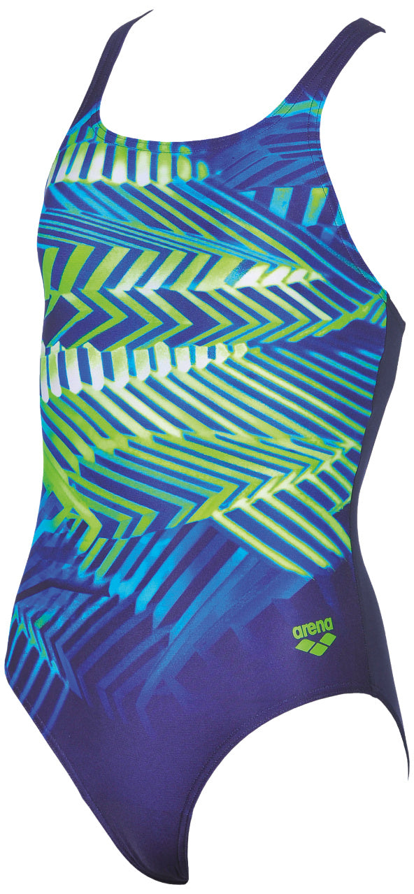 Arena G Spike JR one Piece Navy.Leaf