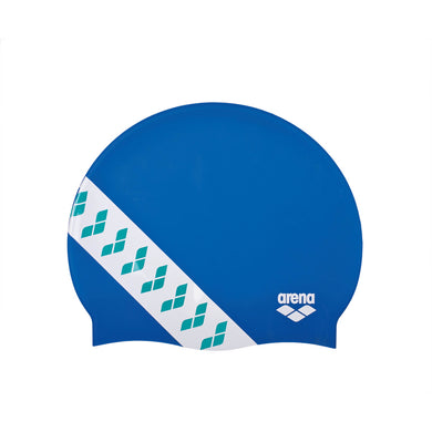 Arena swimcap Team Stripe Blue
