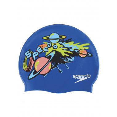 Speedo Slogan Print Junior Cap 6
