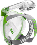 Cressi Duke Full Face Mask Clear/Lime