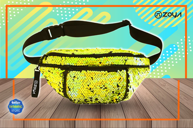 Zoya Sparkle Waist Bag Yellow