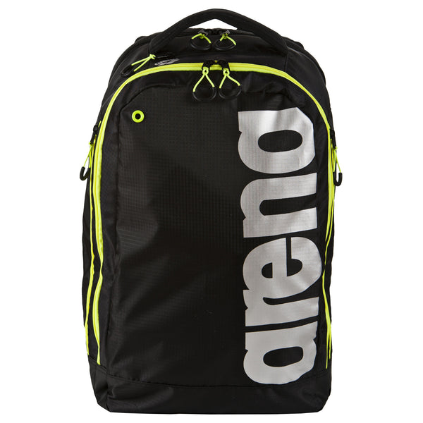 Arena Fast Urban Backpack Bag Black Fluo Yellow