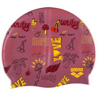Arena swimcap Print2 Assortment 6