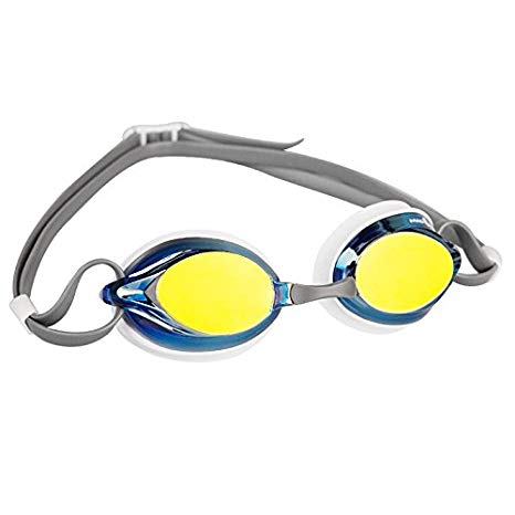Madwave Spurt Rainbow Goggle Grey/white/Blue