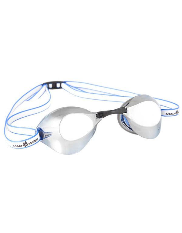 Madwave Turbo Racer II Mirror Goggle Blue