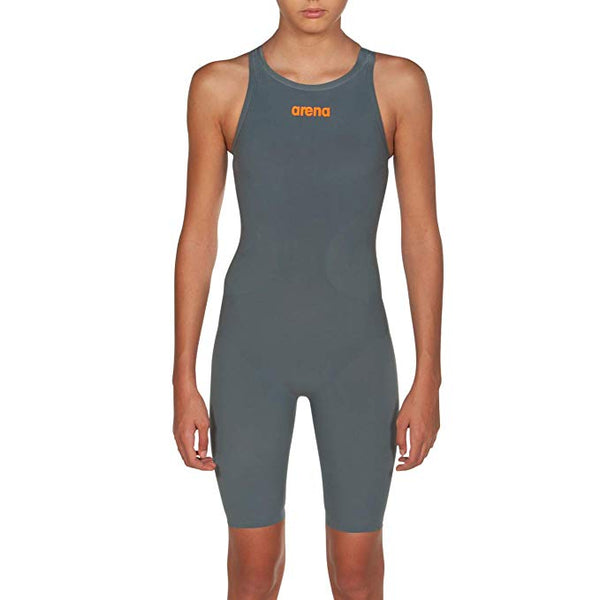 Arena R-Evo One Kneeskin  Junior- Grey / Bright Orange