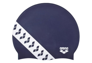 Arena swimcap Team Stripe Navy