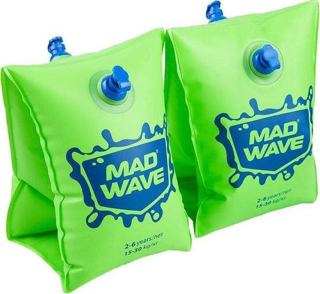 Mad Wave Arm Bands Green