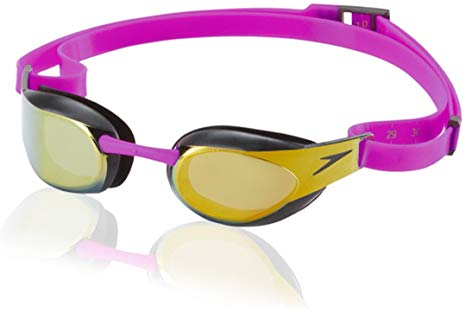 Speedo Fastskin Goggles Mirror Purple.Gold