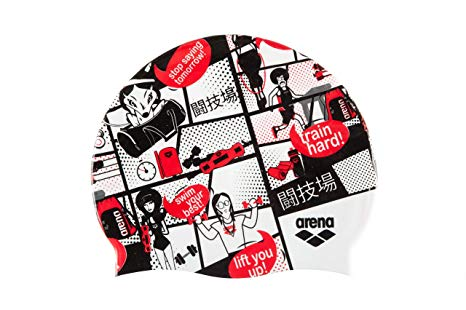 Arena swimcap Print2 Assortment 10