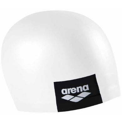 Arena swimcap Logo Moulded White