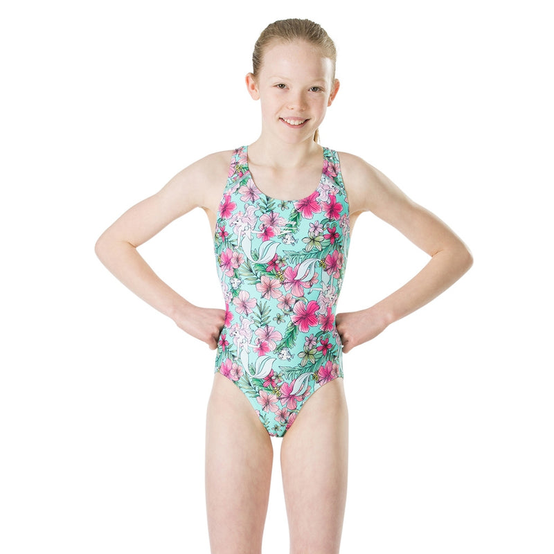Speedo Disney Little Mermaid Girls D488  Endurance+
